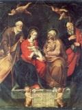 011 Sacra Famiglia con Sant'Anna e San Gioacchino